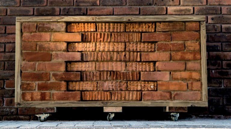 BA (Hons) Architecture - brick wall work