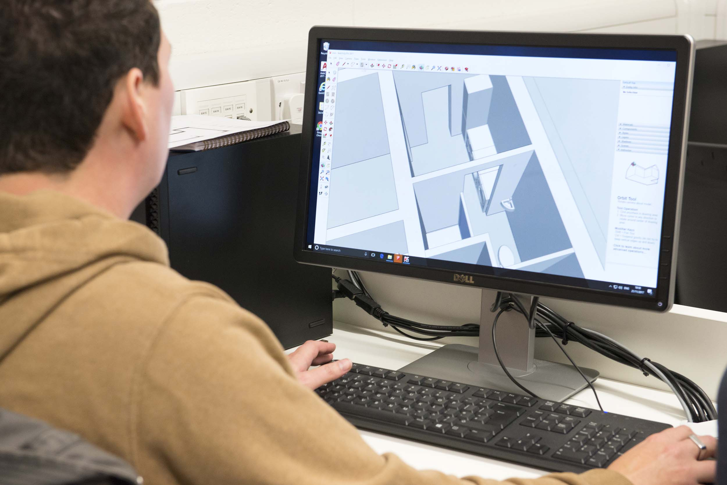 Interior Design Using Autocad And Sketchup Short Course Aub