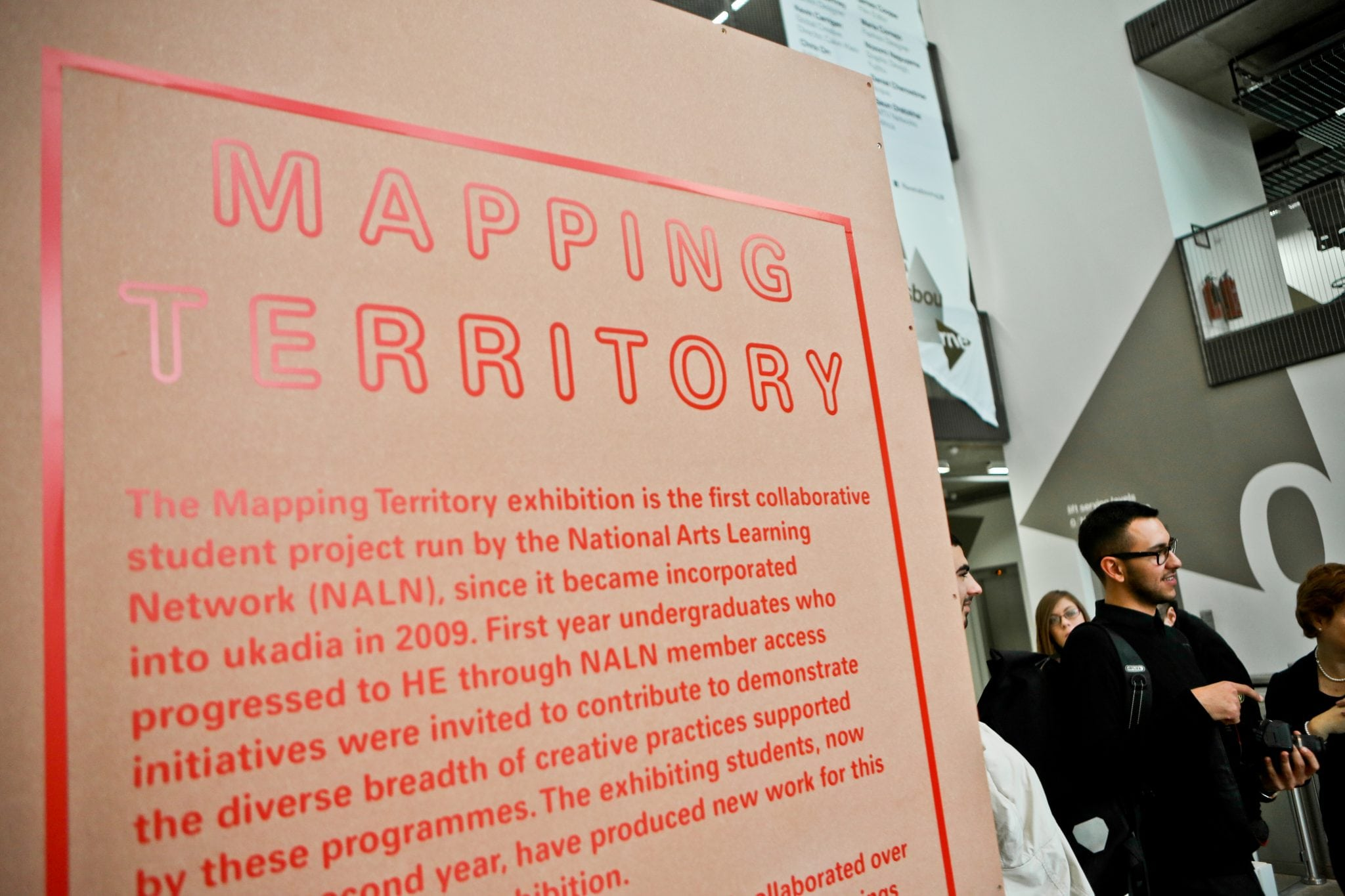 AUB students create work for 'Mapping Territory'
