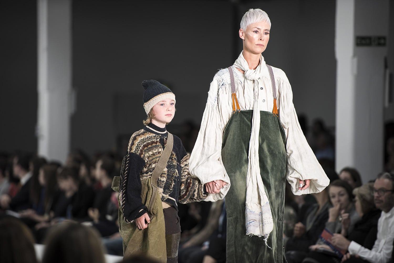 <p>Work by Becky Wilson, Gold Award Winner at Graduate Fashion Week 2018</p>