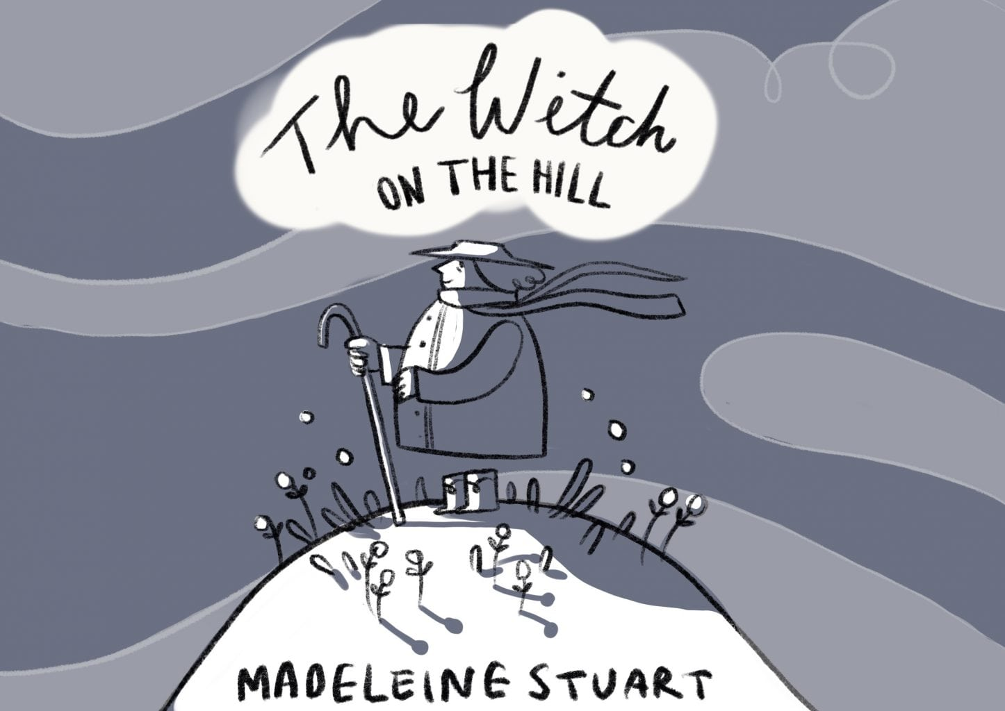 <p>'The Witch on the Hill' by Madeline Stuart</p>