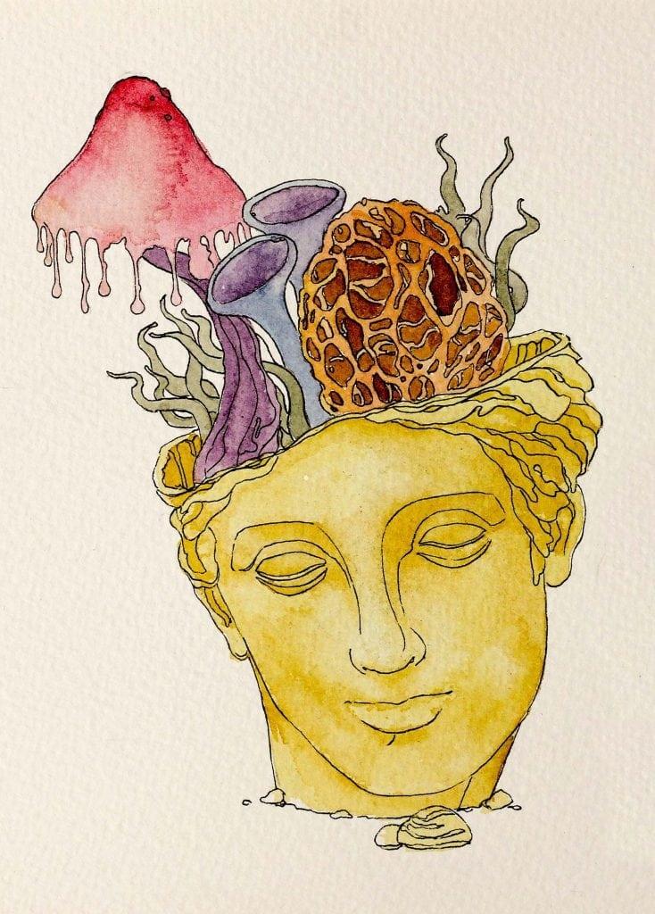 <p>Statue illustration</p>