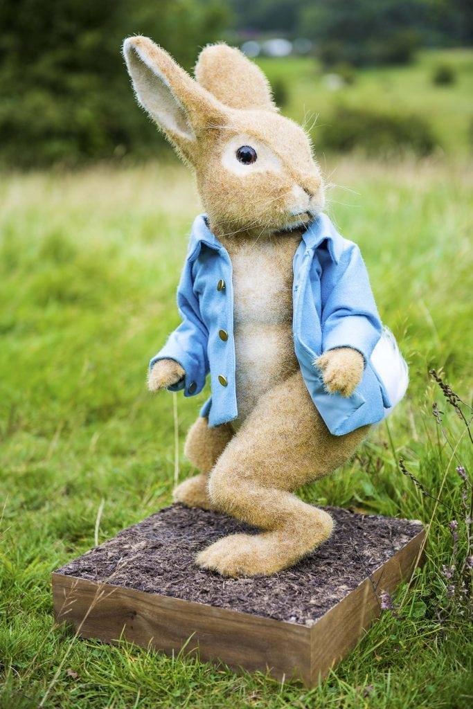 Students model of Peter Rabbit