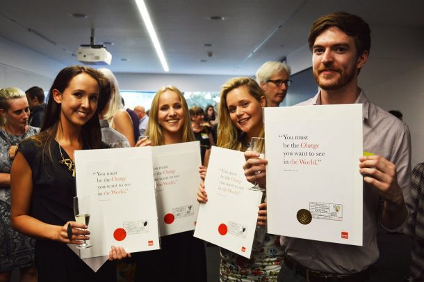 AUB win at Creative Conscience Awards