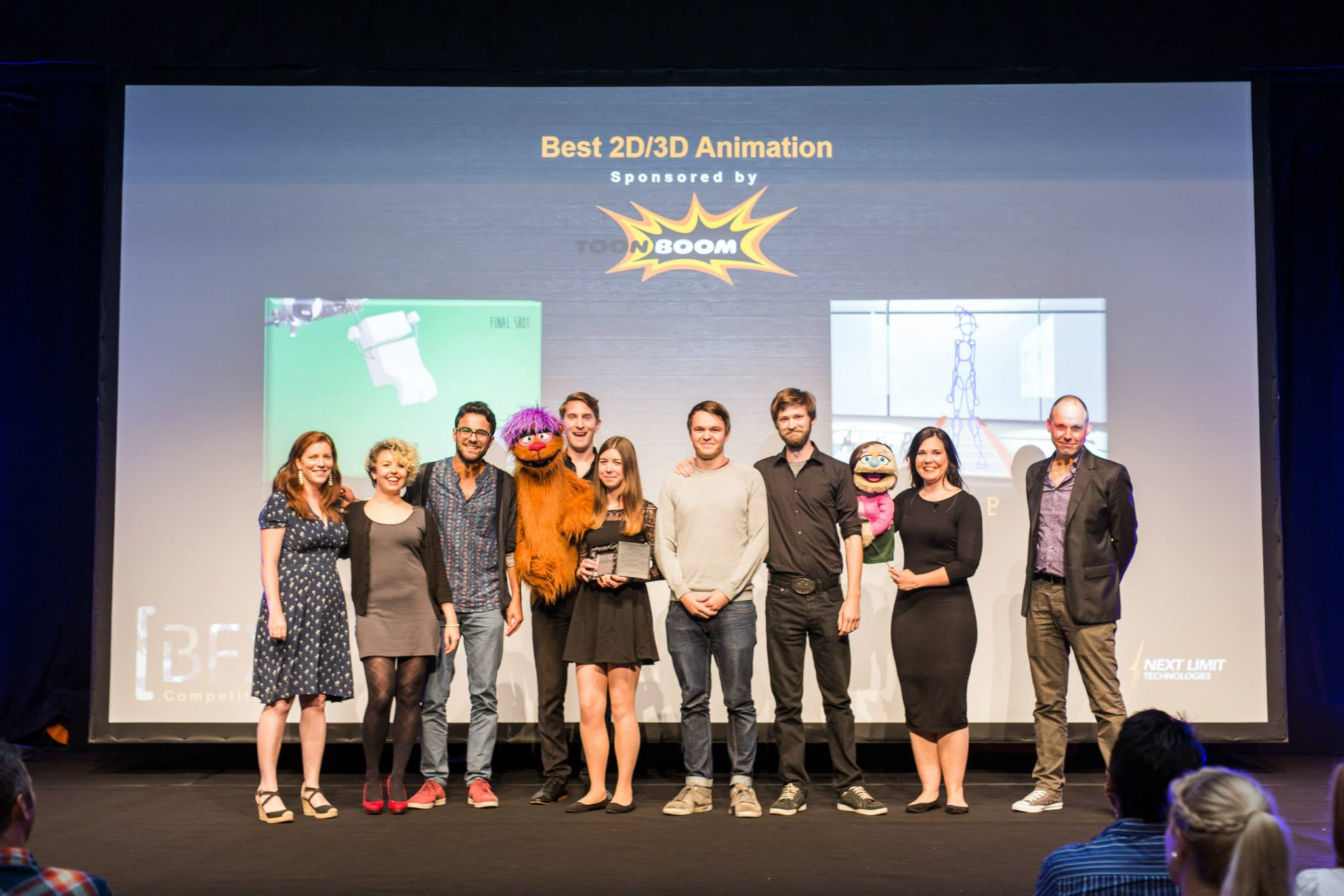 AUB team nets three awards at this year's BFX Festival