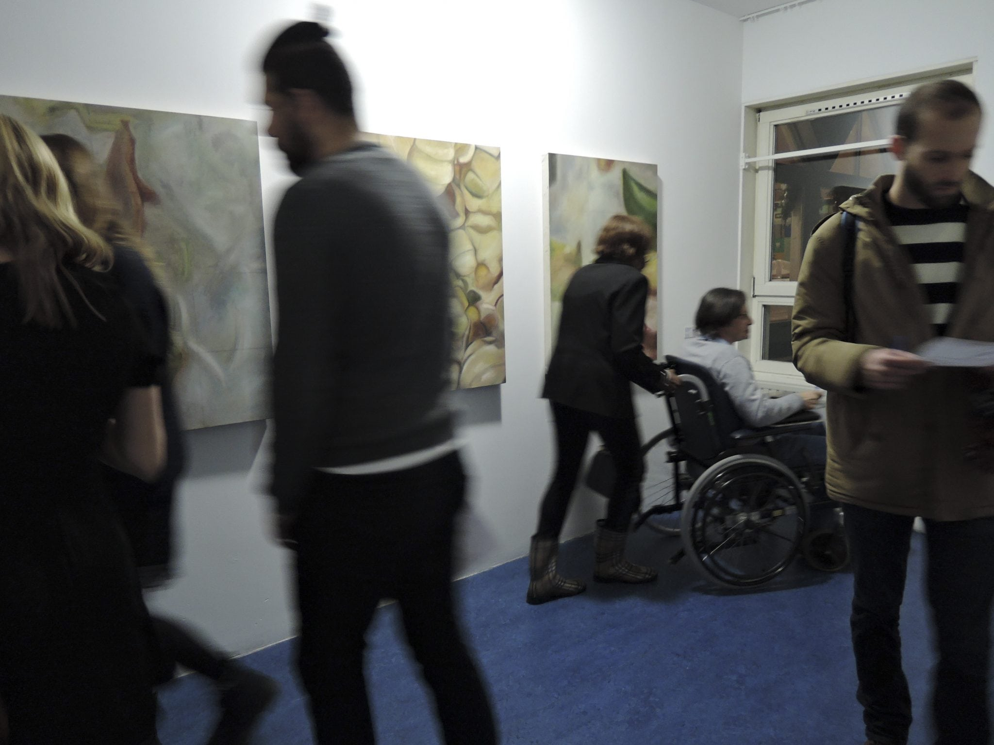 Fine Art students exhibit in Amsterdam