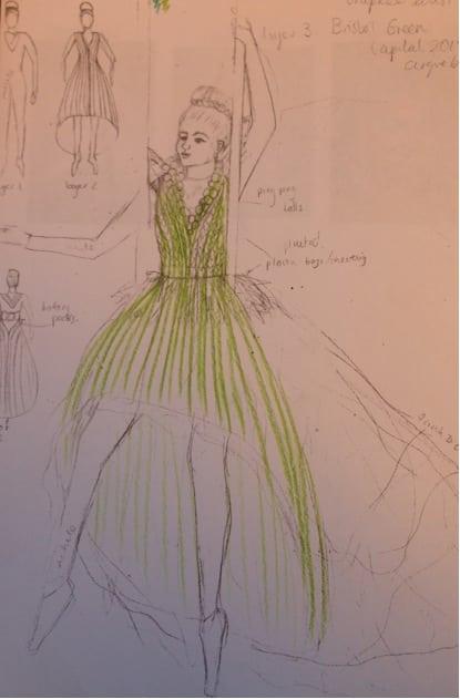 Costume work with Cirque Bijou on Bristol Green Capital