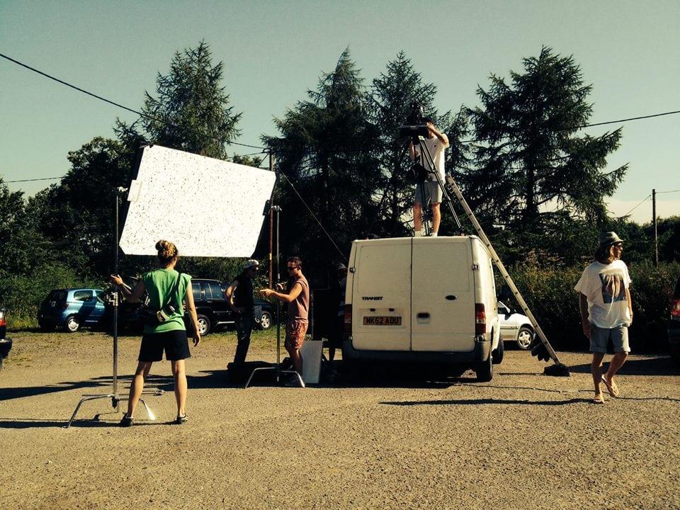 Film Production graduate works on Spectre