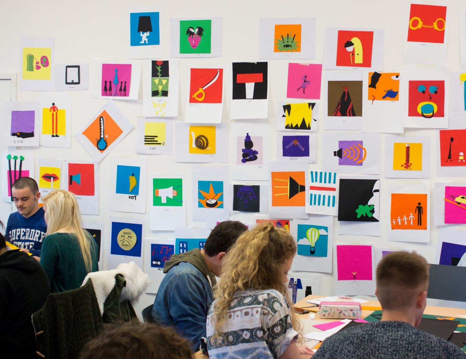 Visual Communication Students win D&AD New Blood Awards