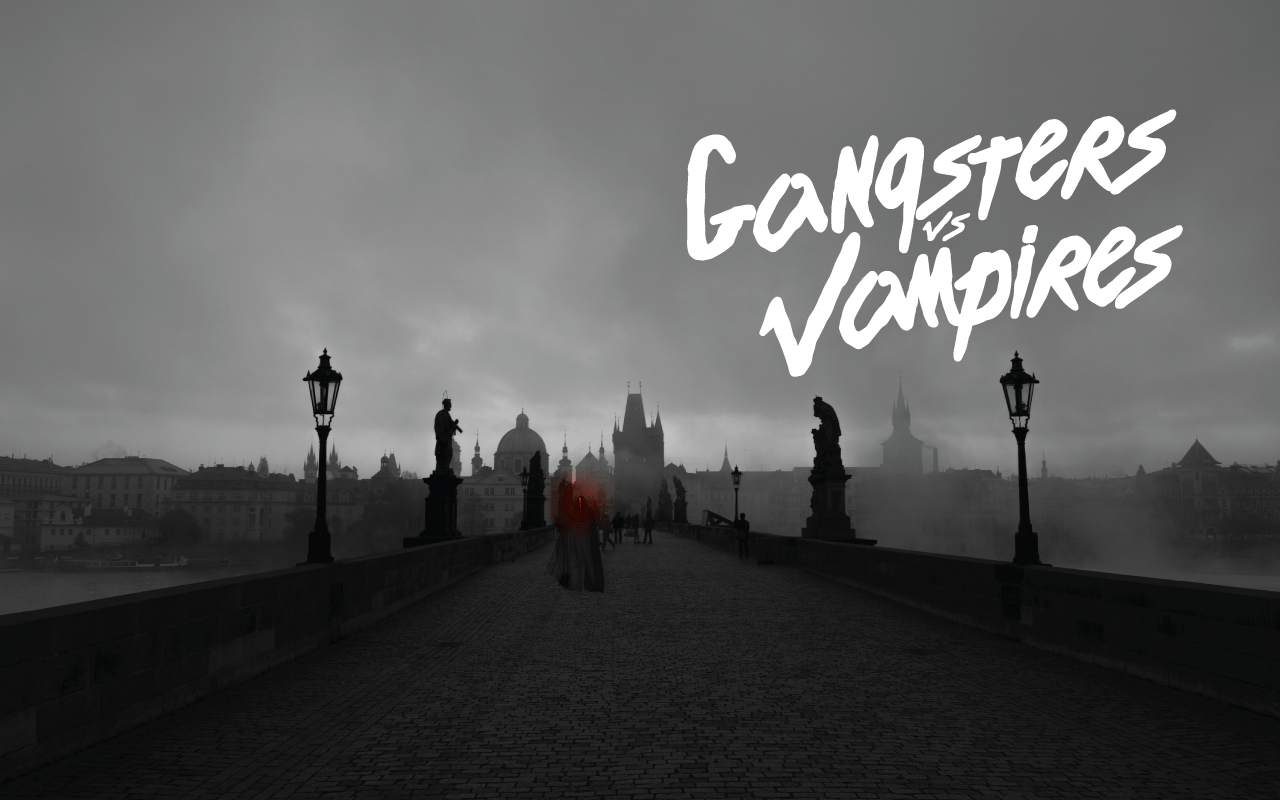 Students Collaborate on Short Film 'Gangsters vs Vampires'