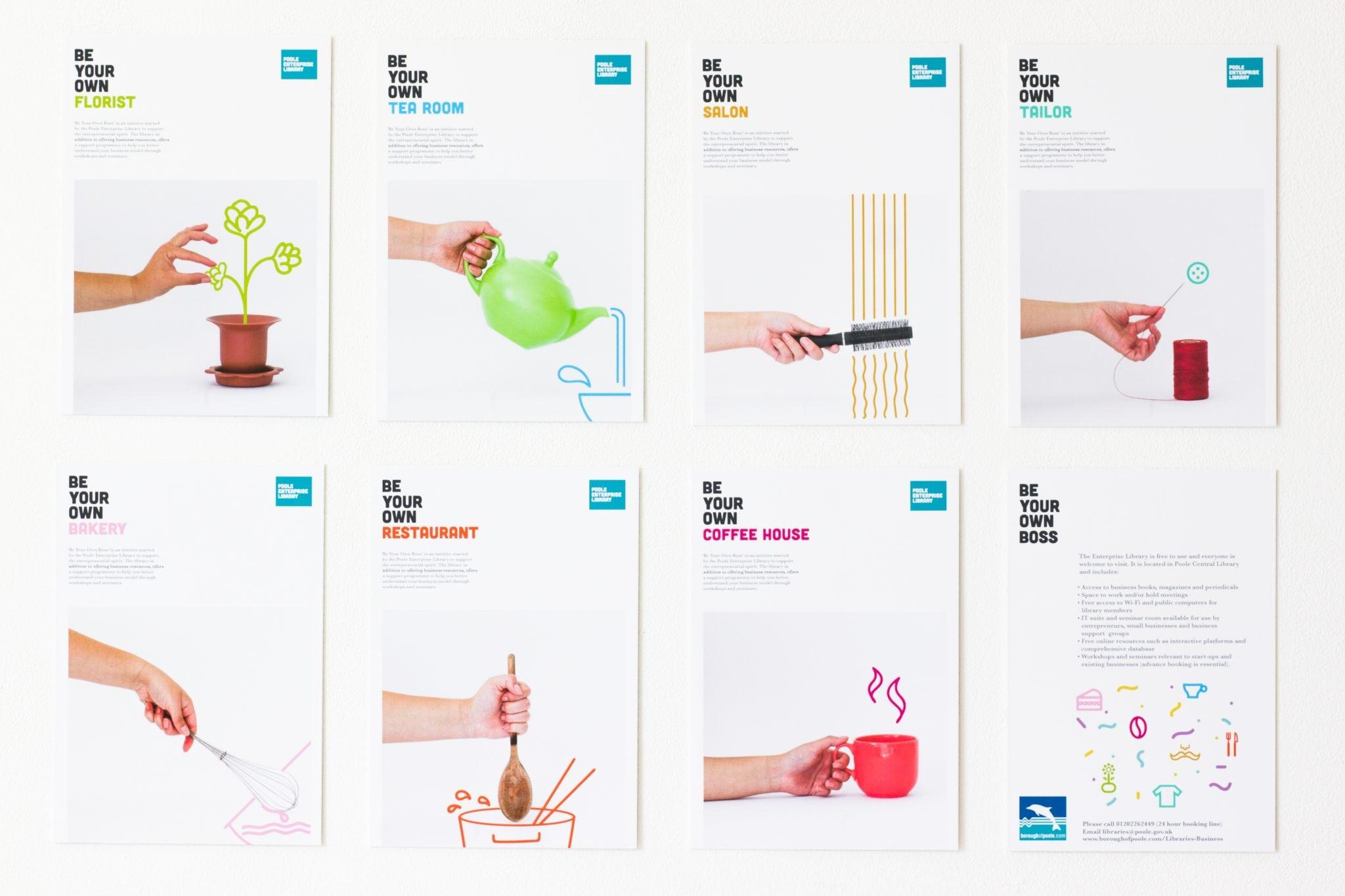 Graphic Design students win Enterprise Library job