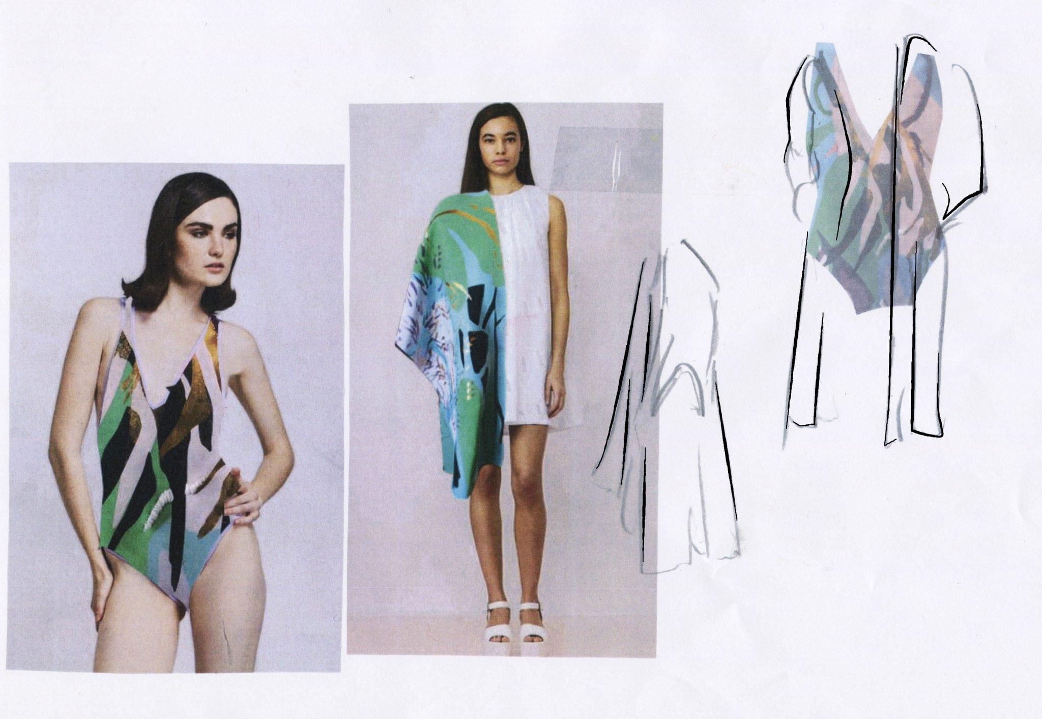 Textiles Placement at Zandra Rhodes