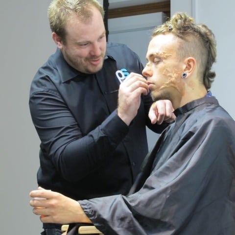 BAFTA Winning Prosthetic Makeup Designer Kristyan Mallett visits AUB