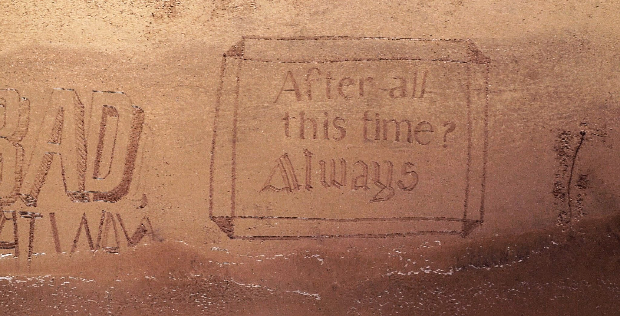 """After all this time?"" ""Always."" – Harry Potter"