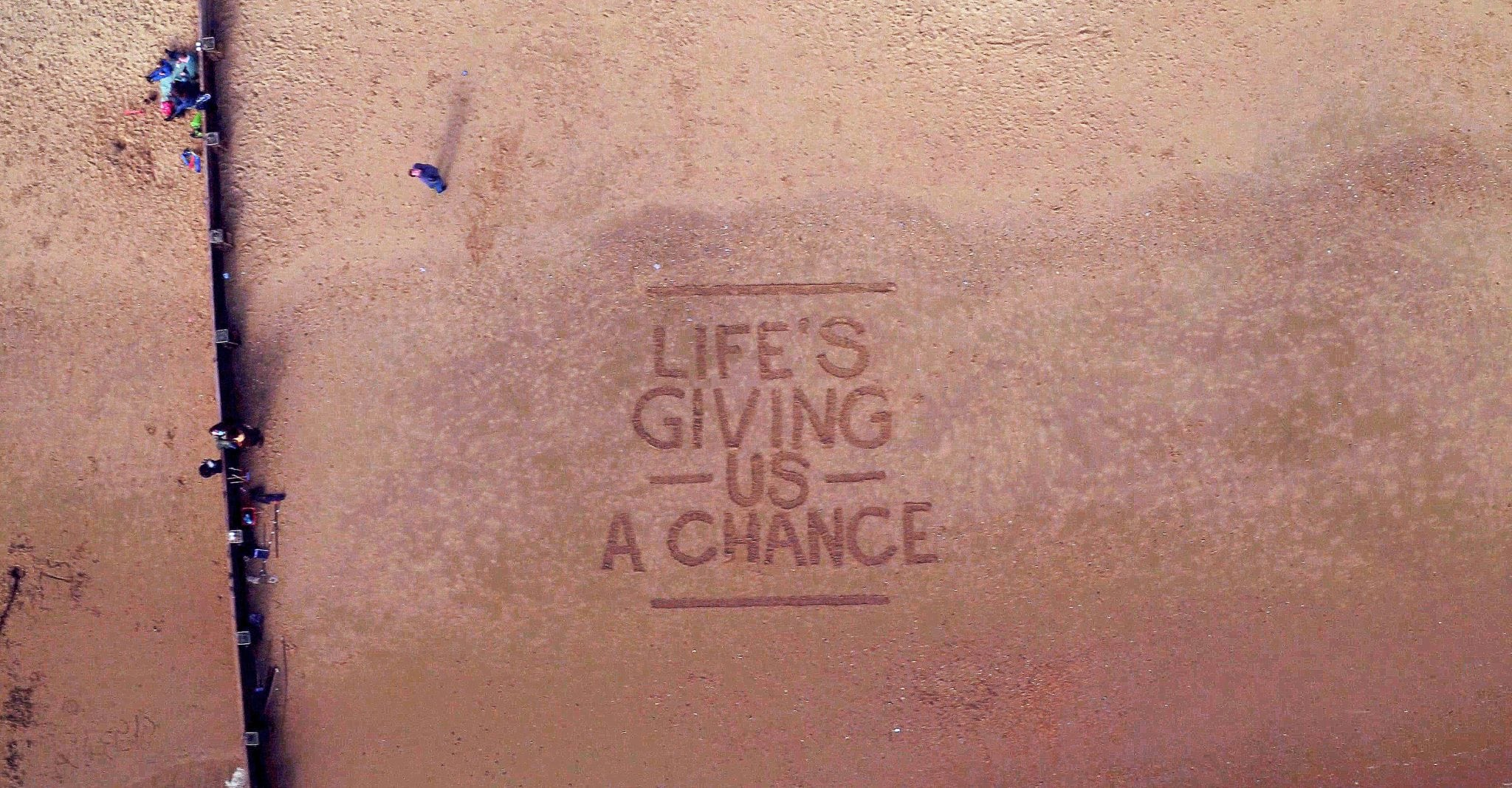 """Life's giving us a chance"" – Guardians of the Galaxy"