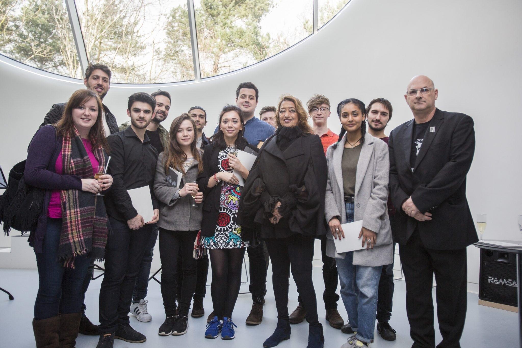 AUB Architecture students welcome Dame Zaha Hadid
