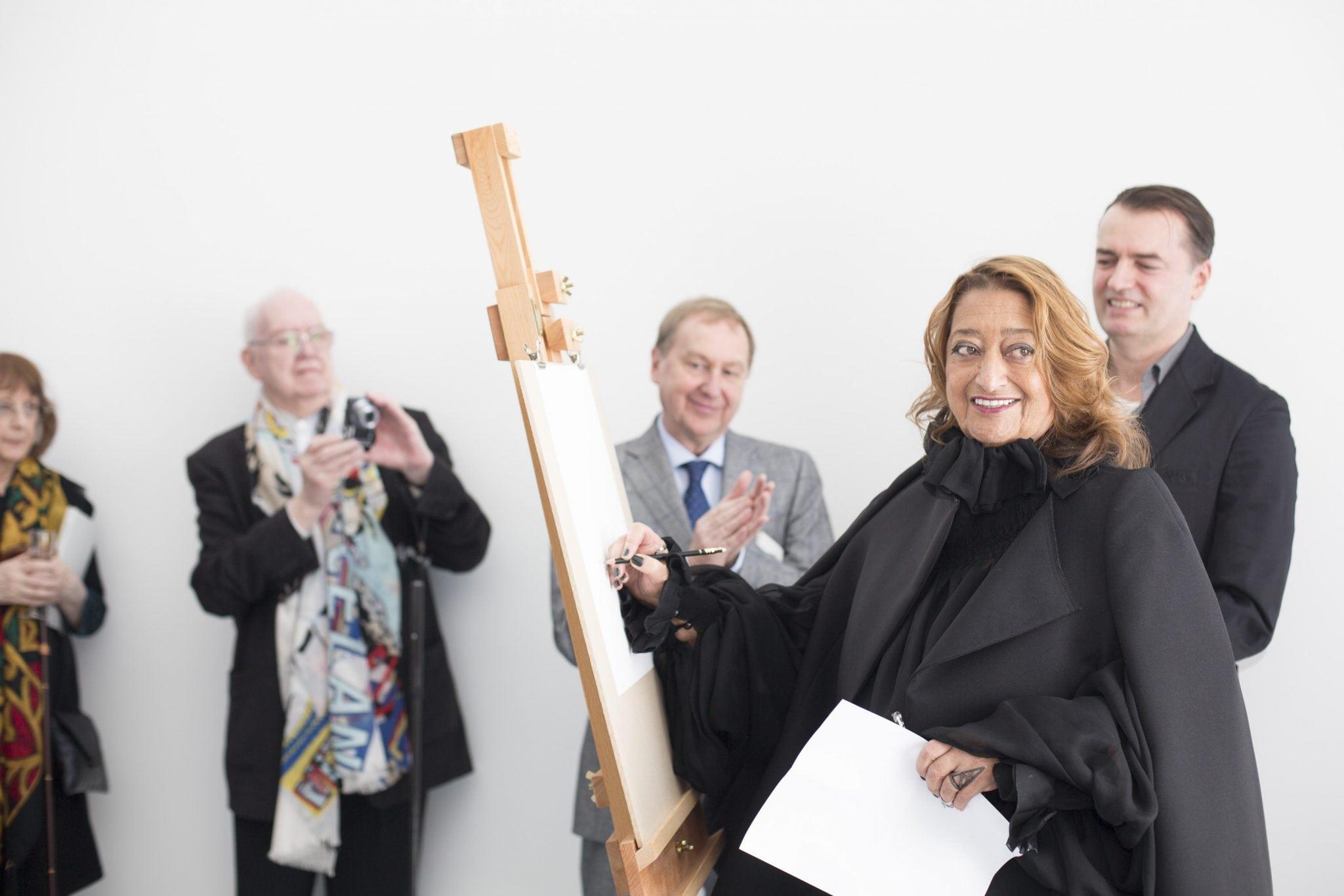 AUB Drawing Studio opened by Dame Zaha Hadid