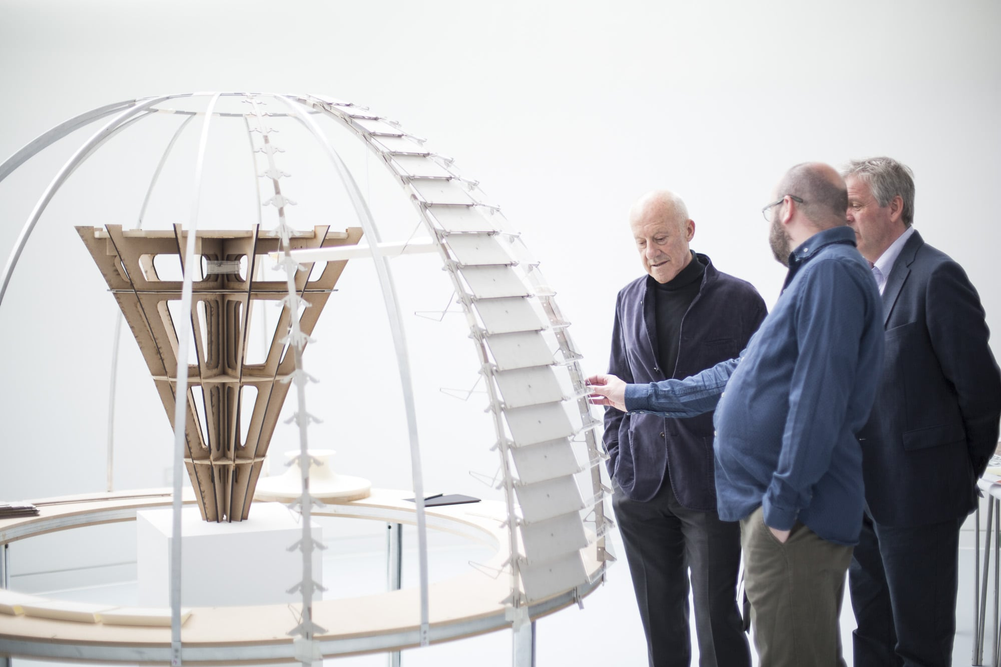 Lord Norman Foster commissions Modelmaking students to recreate lost model