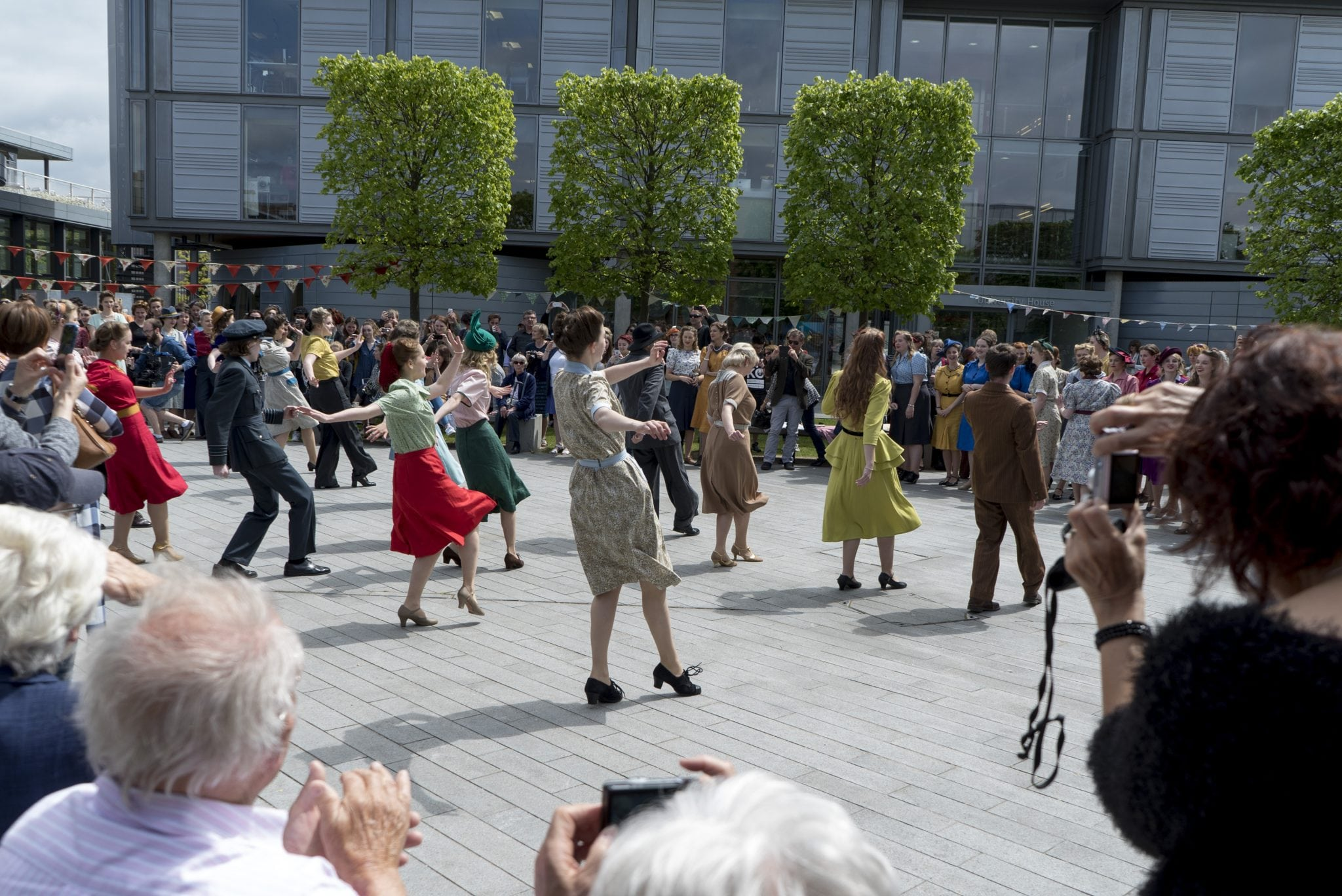 Jambusters: Costume put on post-war garden party performance
