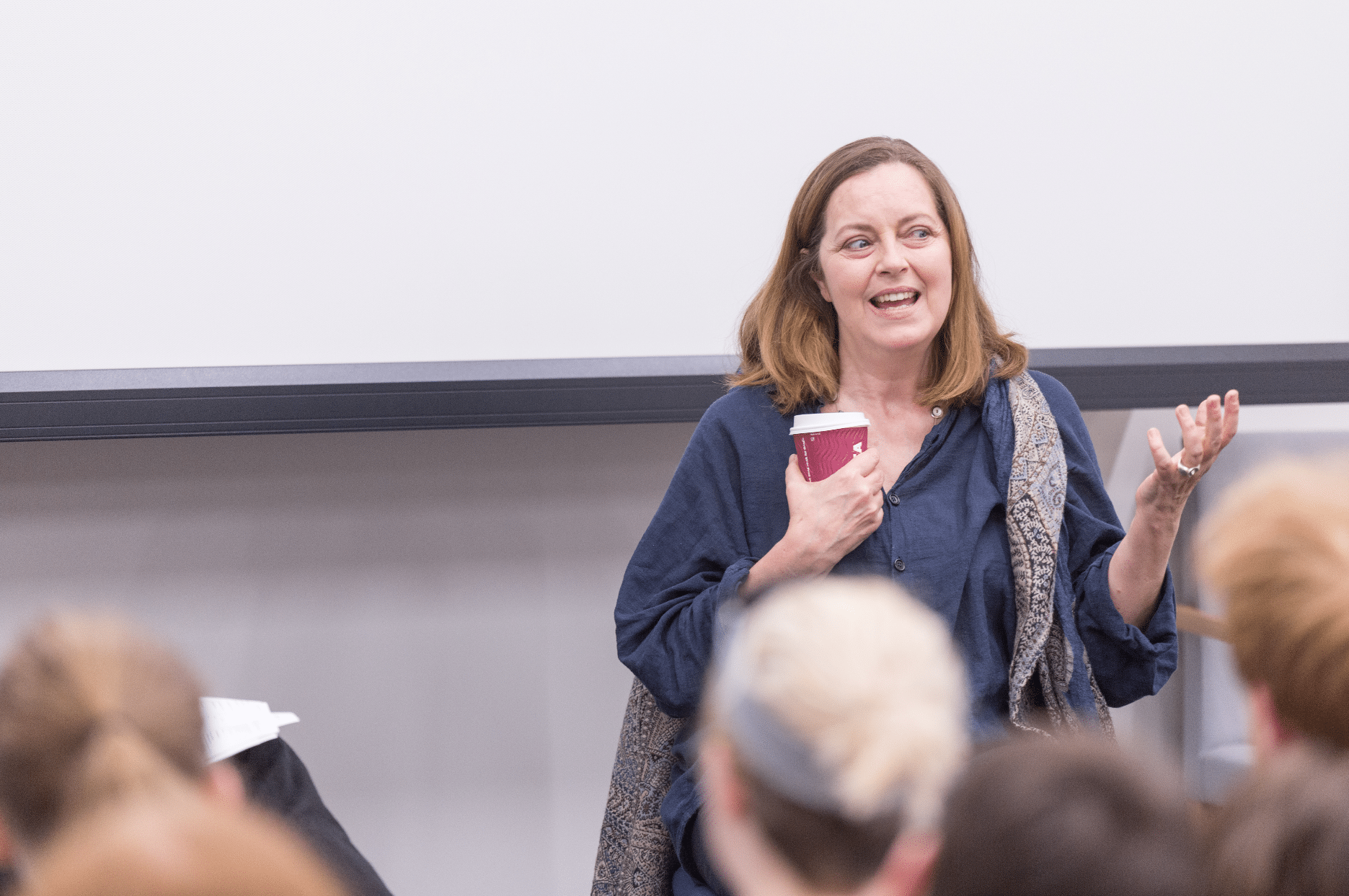 Honorary Fellow Greta Scacchi visits Acting
