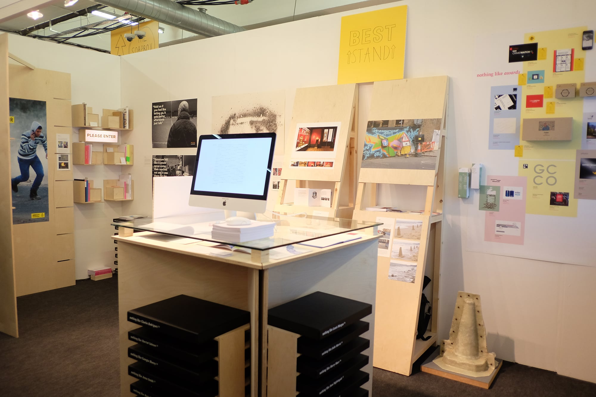Graphic Design win 'Best Stand' and Pencils at D&AD New Blood