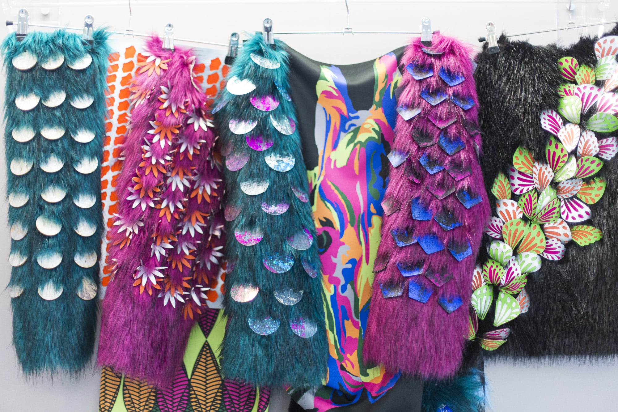 BA (Hons) Textiles at New Designers exhibition