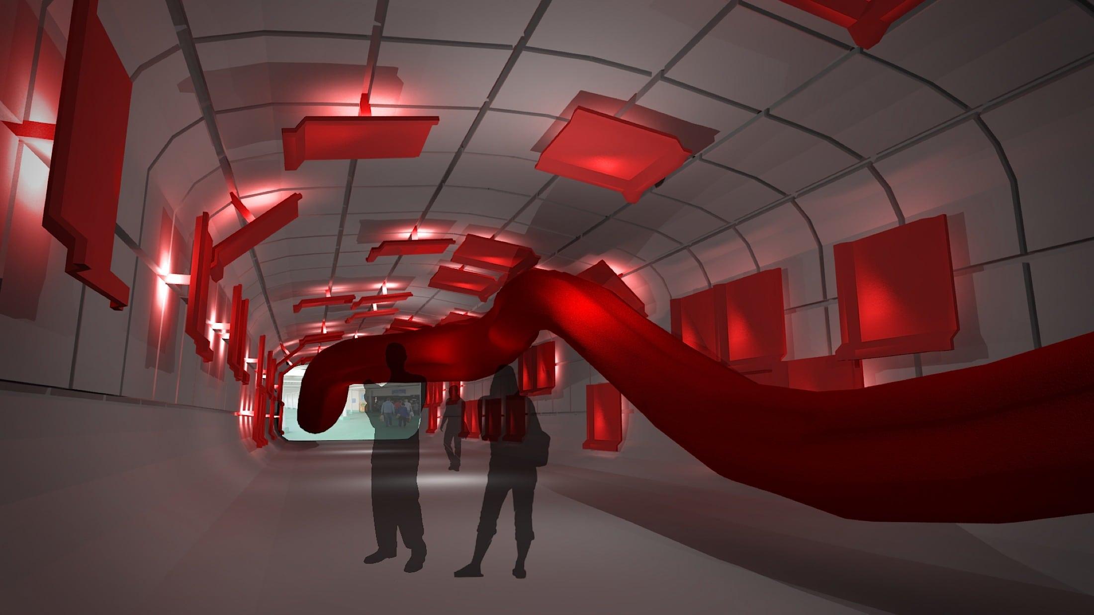 Interior Architecture & Design Course Exhibit at Free Range
