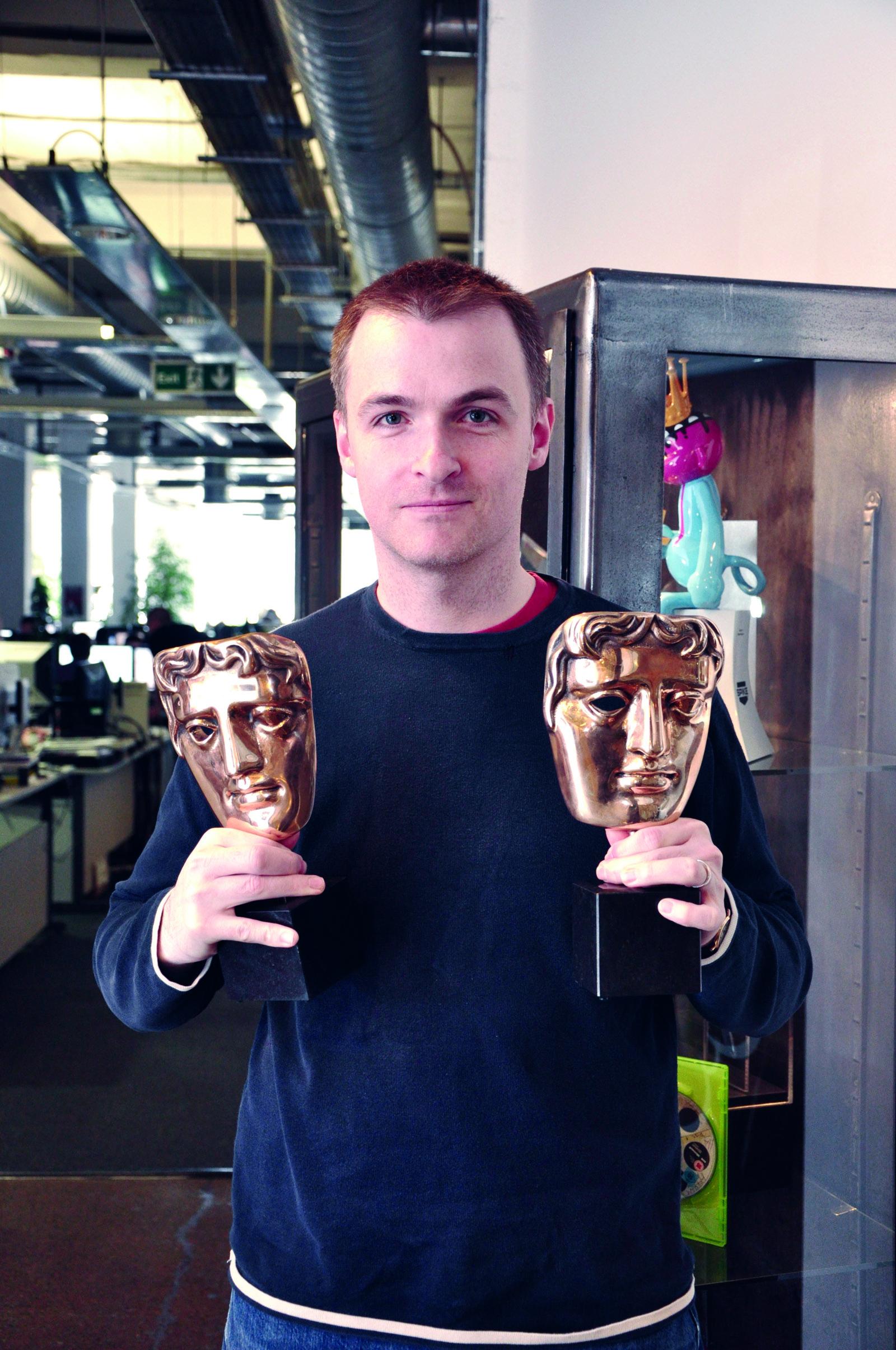 Animation graduate wins BAFTA