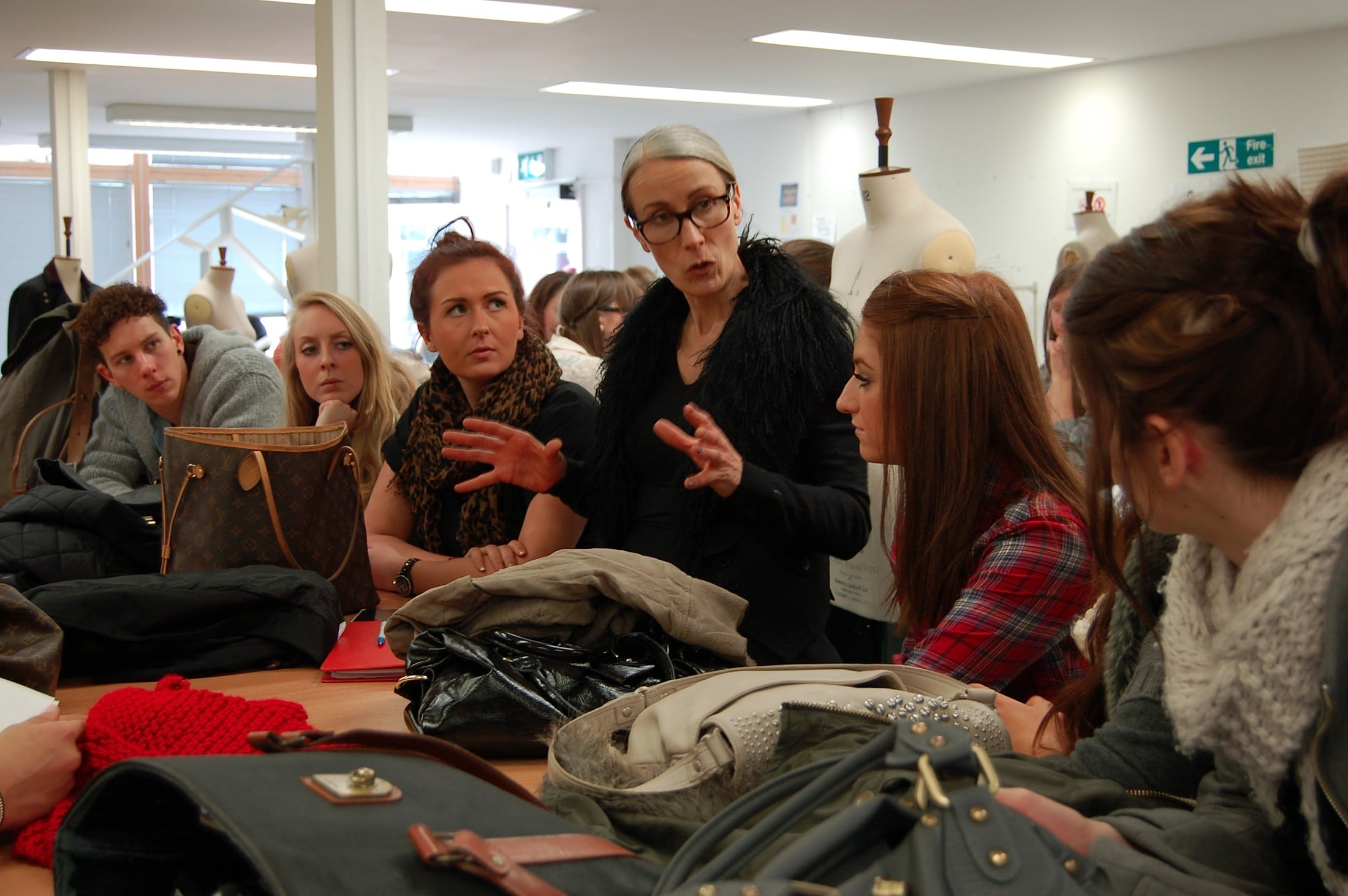Fashion Students Celebrate Diversity with Caryn Franklin