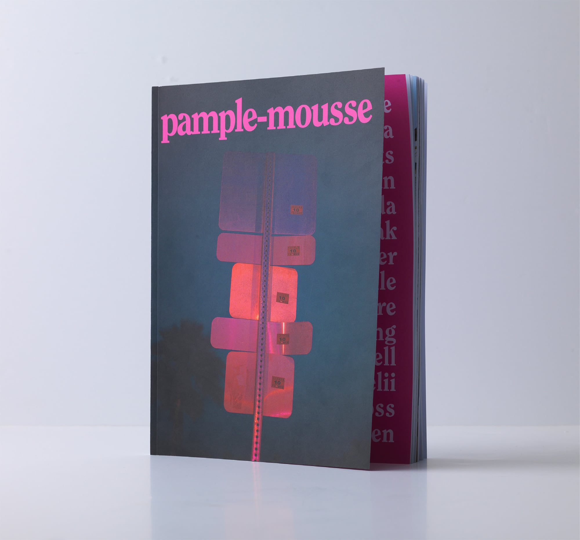 Alumni collaborate on Pample-mousse magazine
