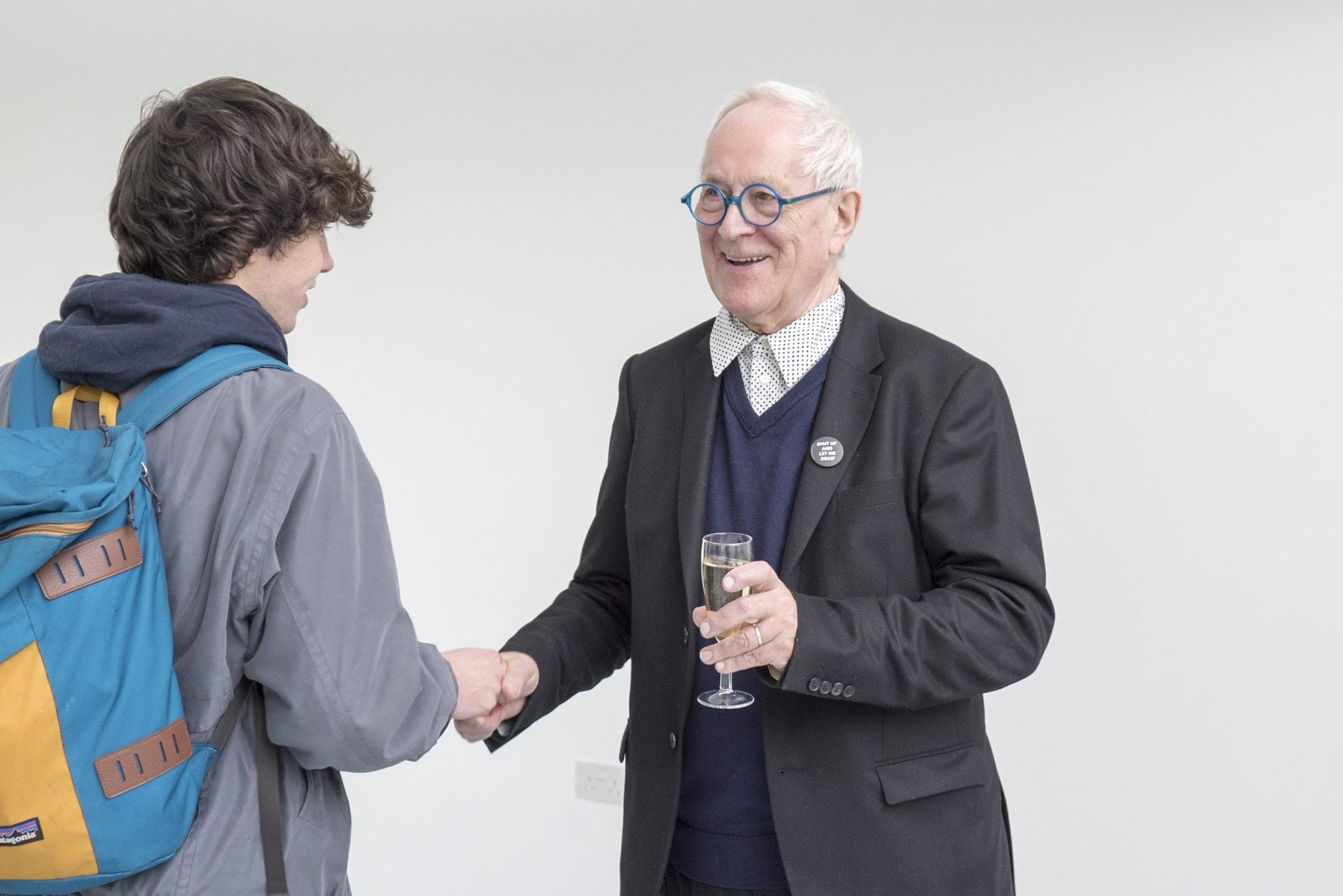 Birthday celebrations for Professor Sir Peter Cook