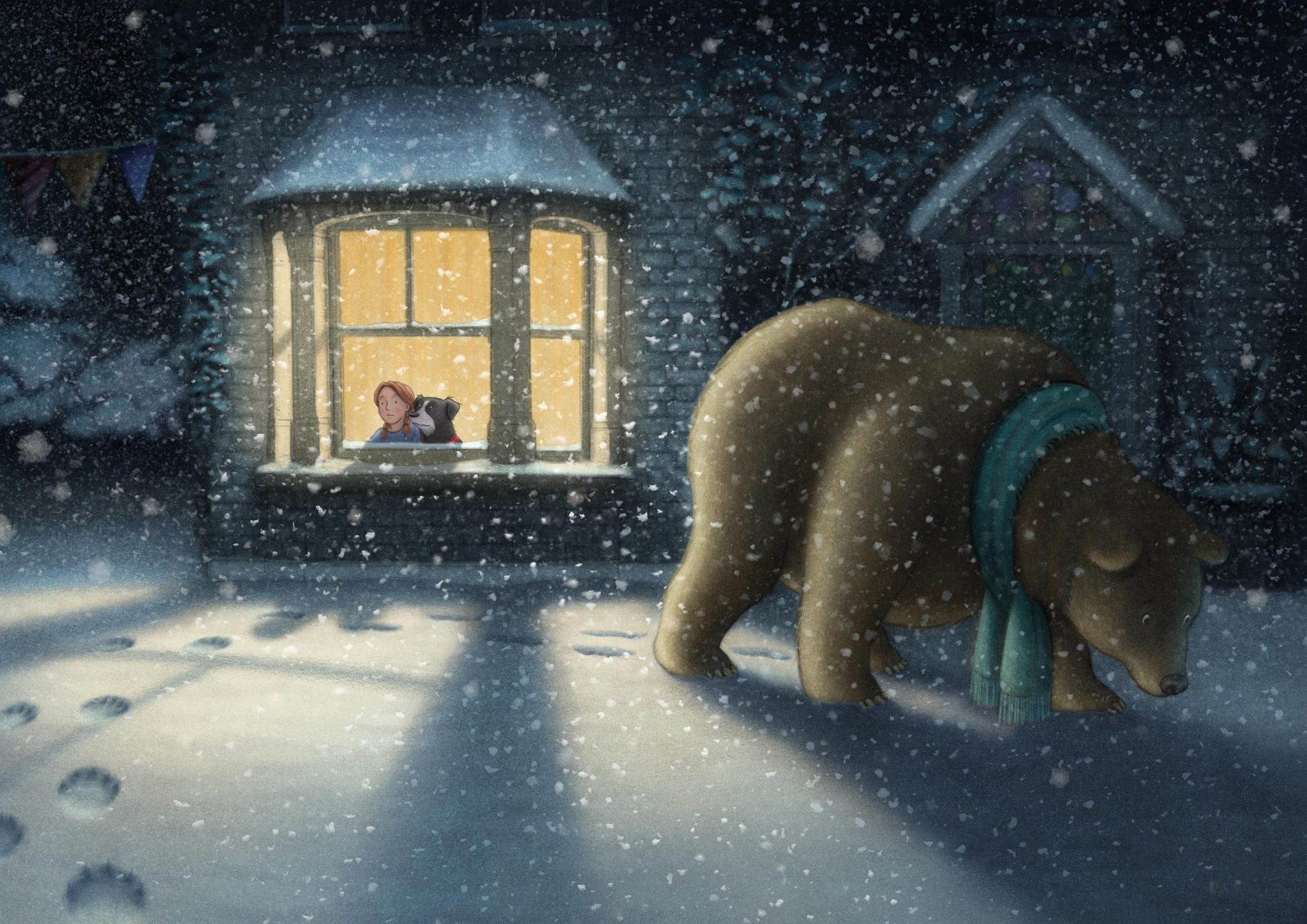 Animation Alumni work on 'We're Going on a Bear Hunt'