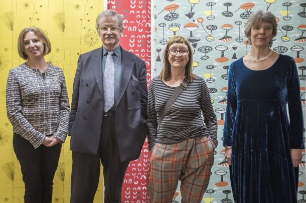 Opening of Lucienne Day exhibition in TheGallery