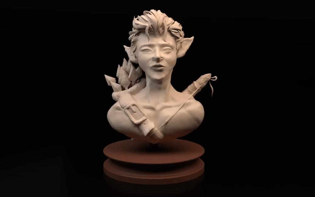 ZBrush Digital Sculpture - Arts University Bournemouth