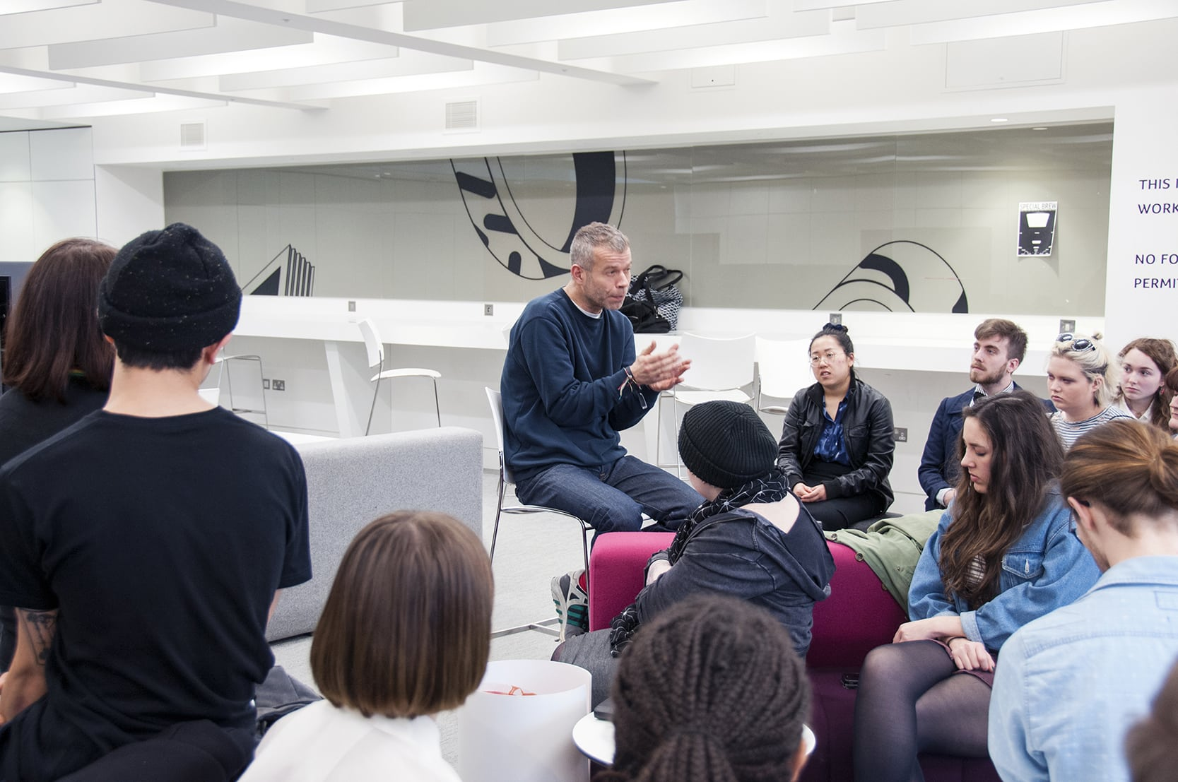 Wolfgang Tillmans gives guest lecture