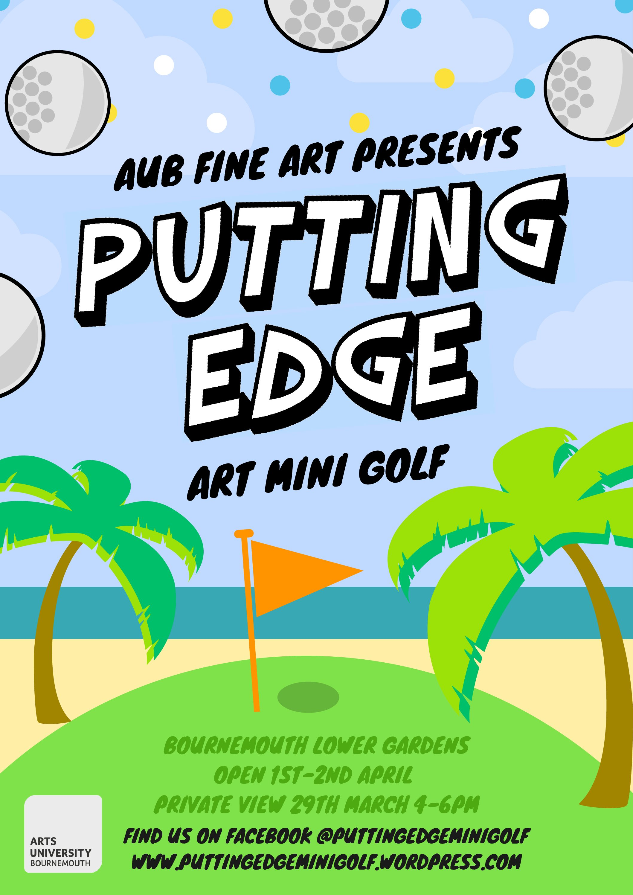 Putting Edge – Fine Art student exhibition curated by Douglas Fishbone