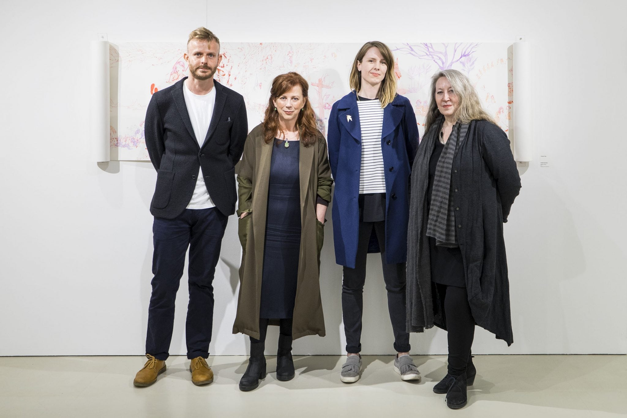 Opening of Jerwood Drawing Prize 2016 exhibition