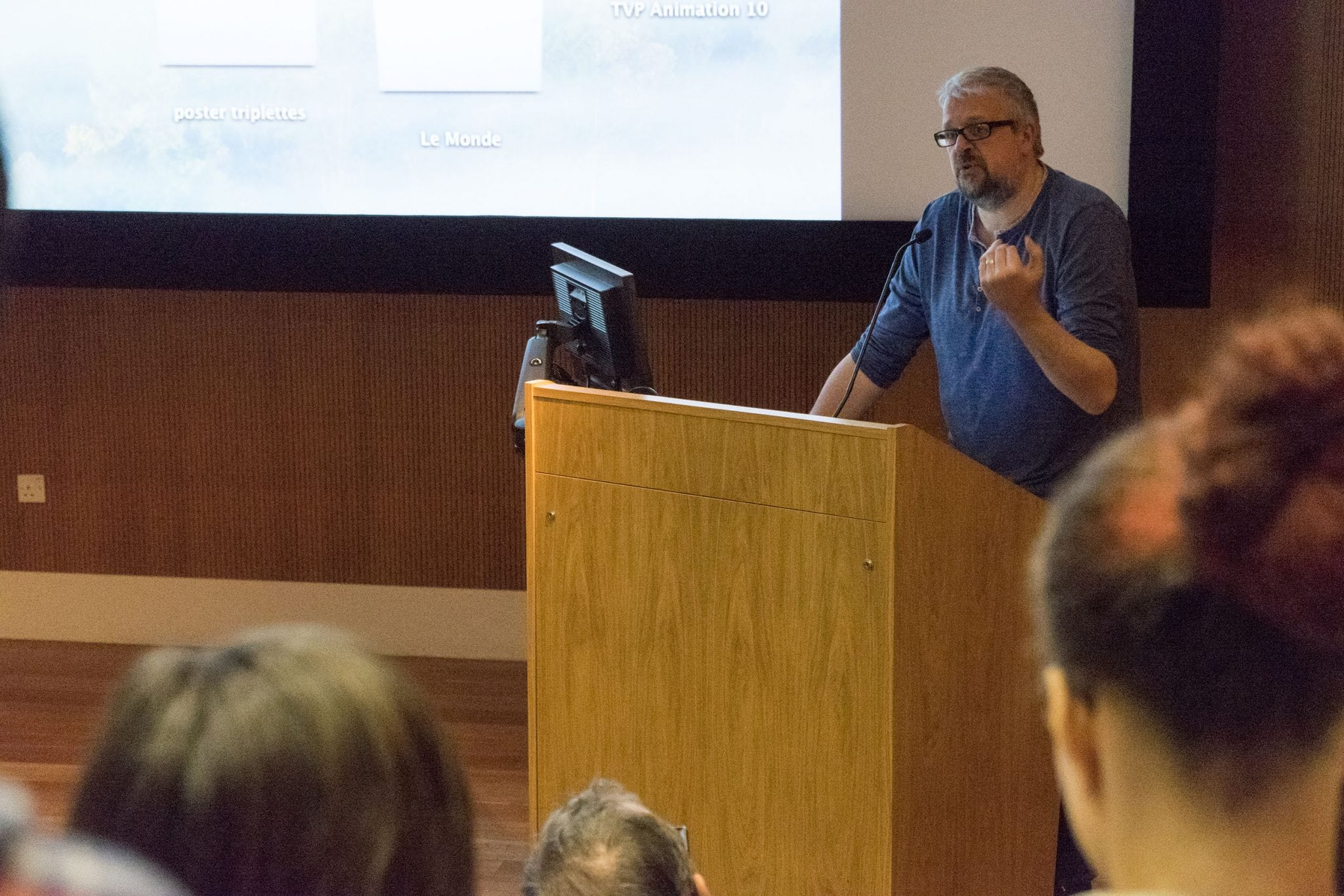 Sylvain Chomet visits Animation students