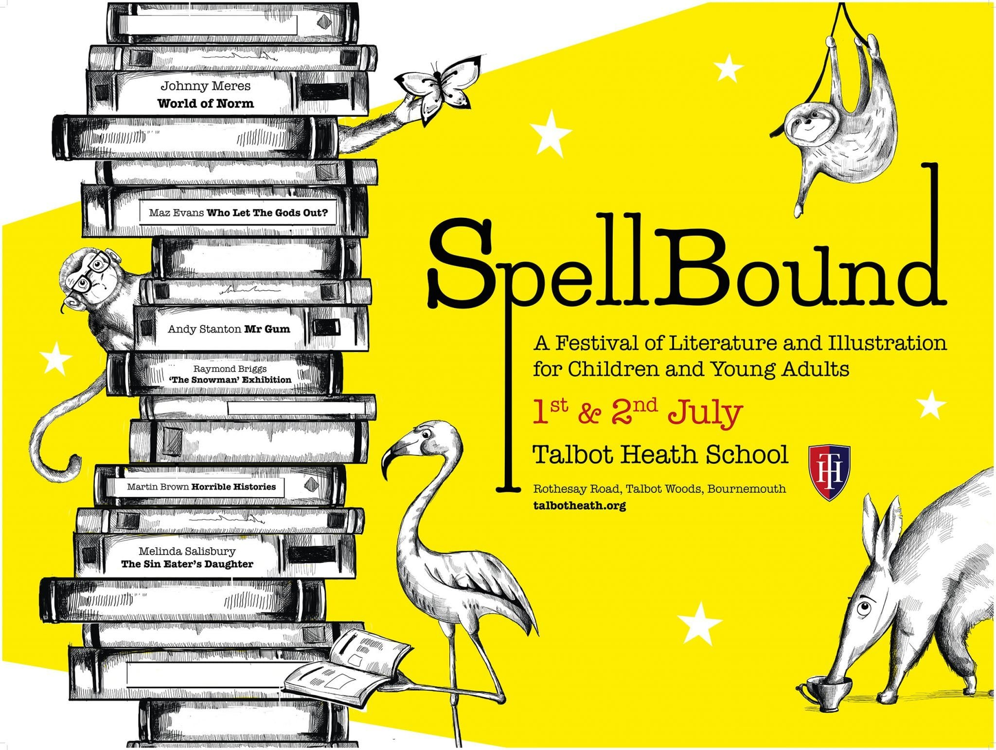 AUB collaborate with Talbot Heath School to create SpellBound; a Festival of Literature and Illustration for Children and Young Adults