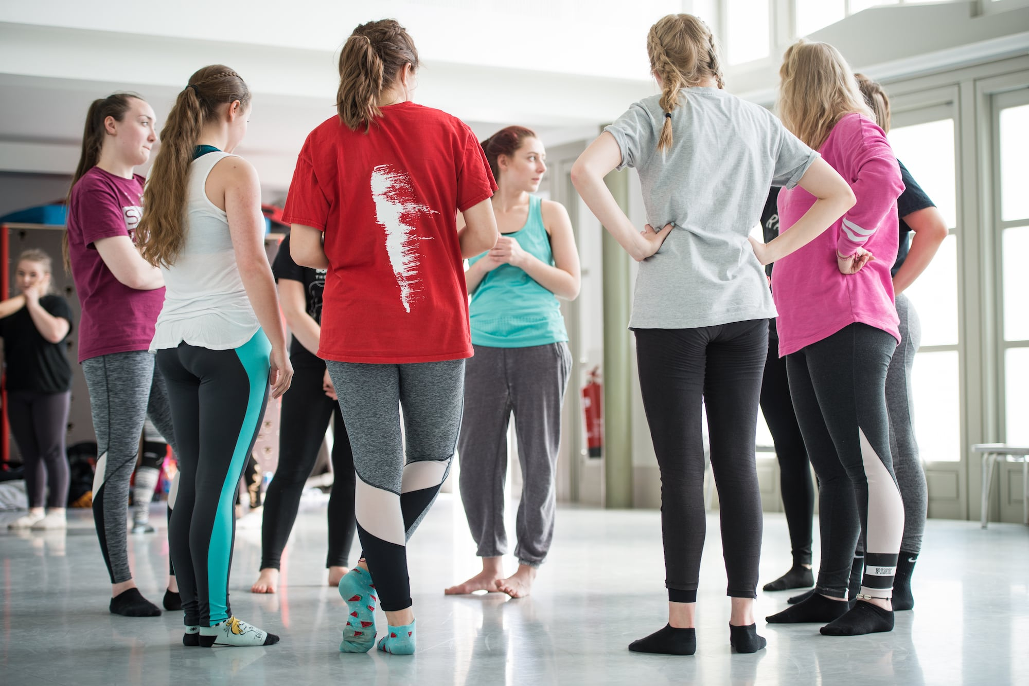 Students take part in Digital Dance workshop