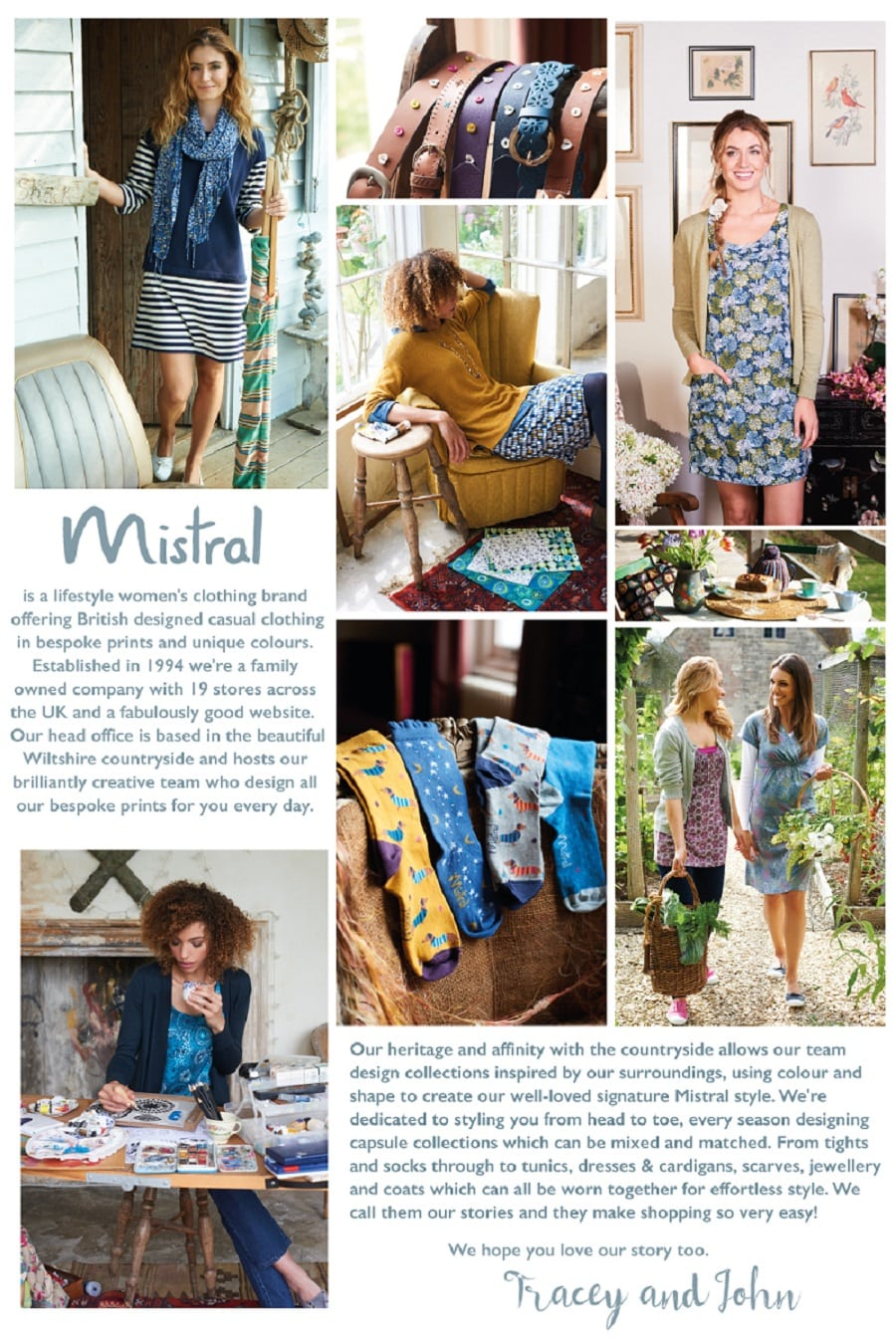 Textiles placement at Mistral