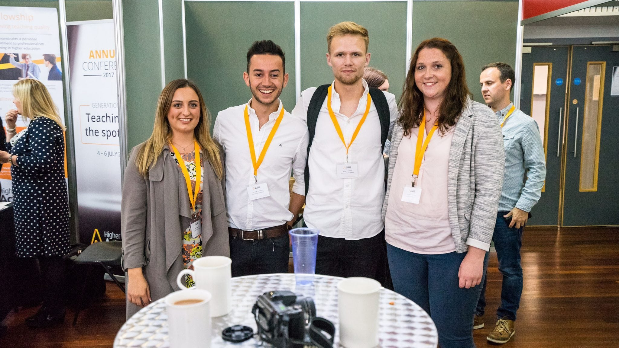 AUB students and staff present at the Higher Education Academy conference