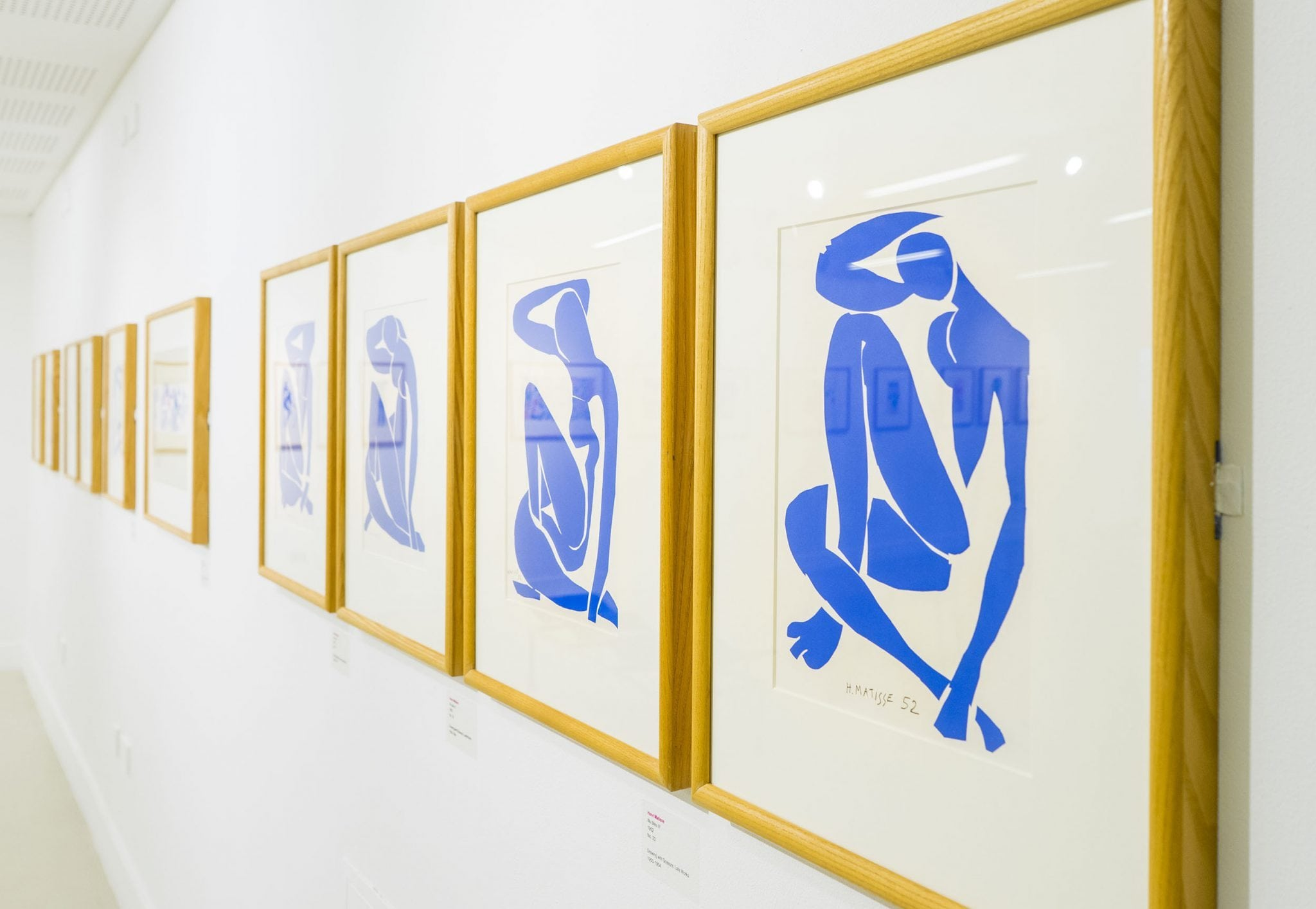 See Matisse's Drawing with Scissors cut-outs