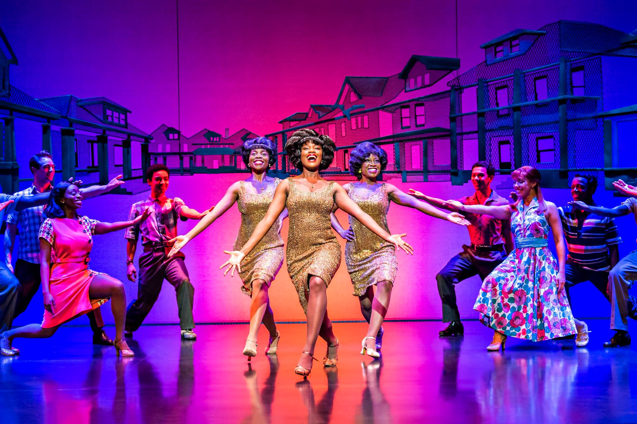 Costume alumna Ciara Baron speaks about her experience at Motown: The Musical