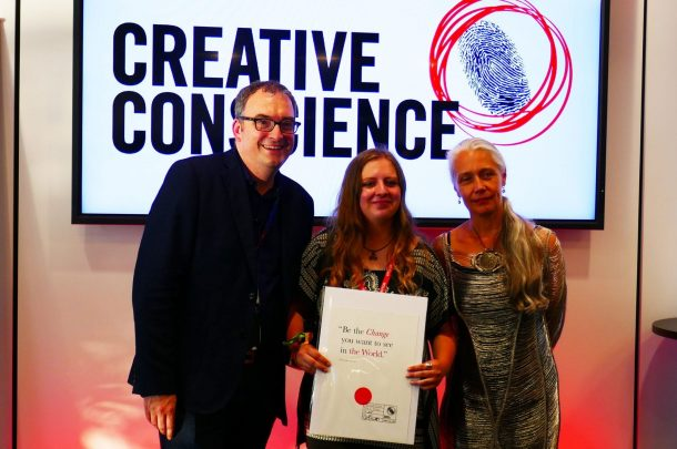 Graphic Design Student Winners in Creative Conscience Awards, 2017