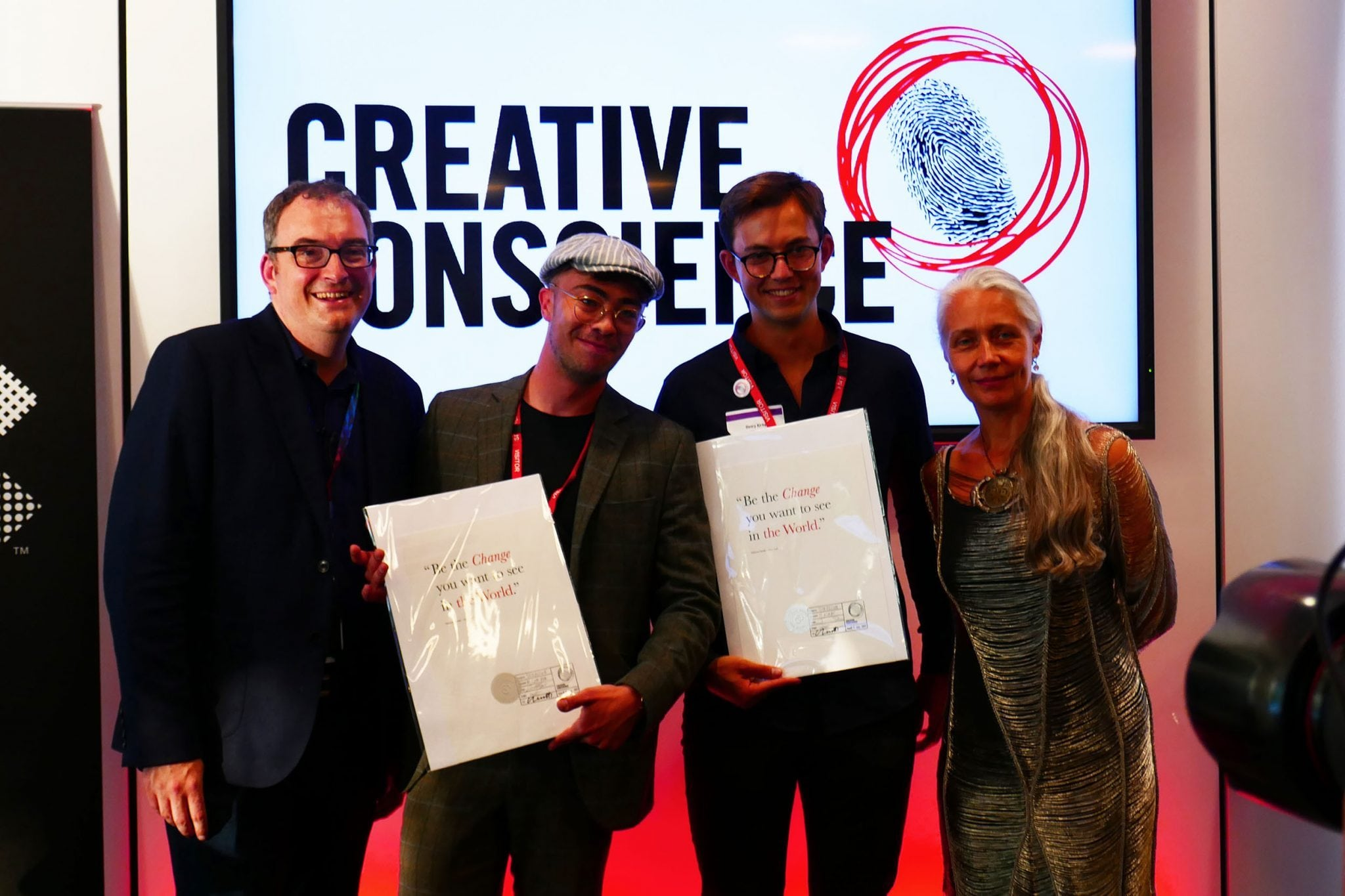 Graphic Design Student Winners in Creative Conscience Awards, 2017 - Arts University Bournemouth