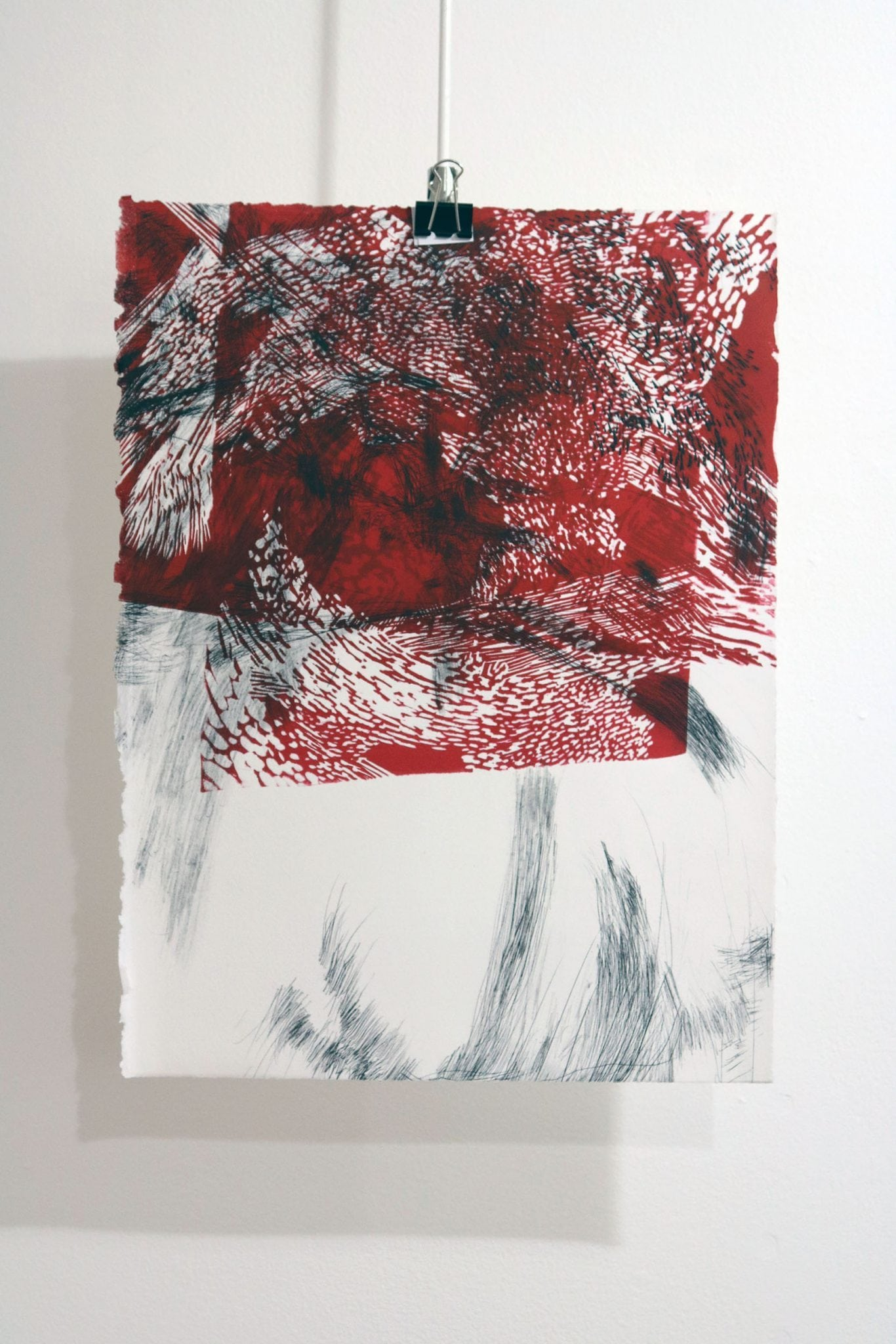 Homeward Printmaking Exhibition shown in BUMF Gallery