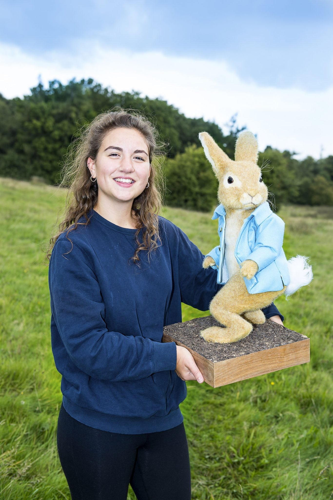 Modelmaking graduate talks to us about creating Peter Rabbit model