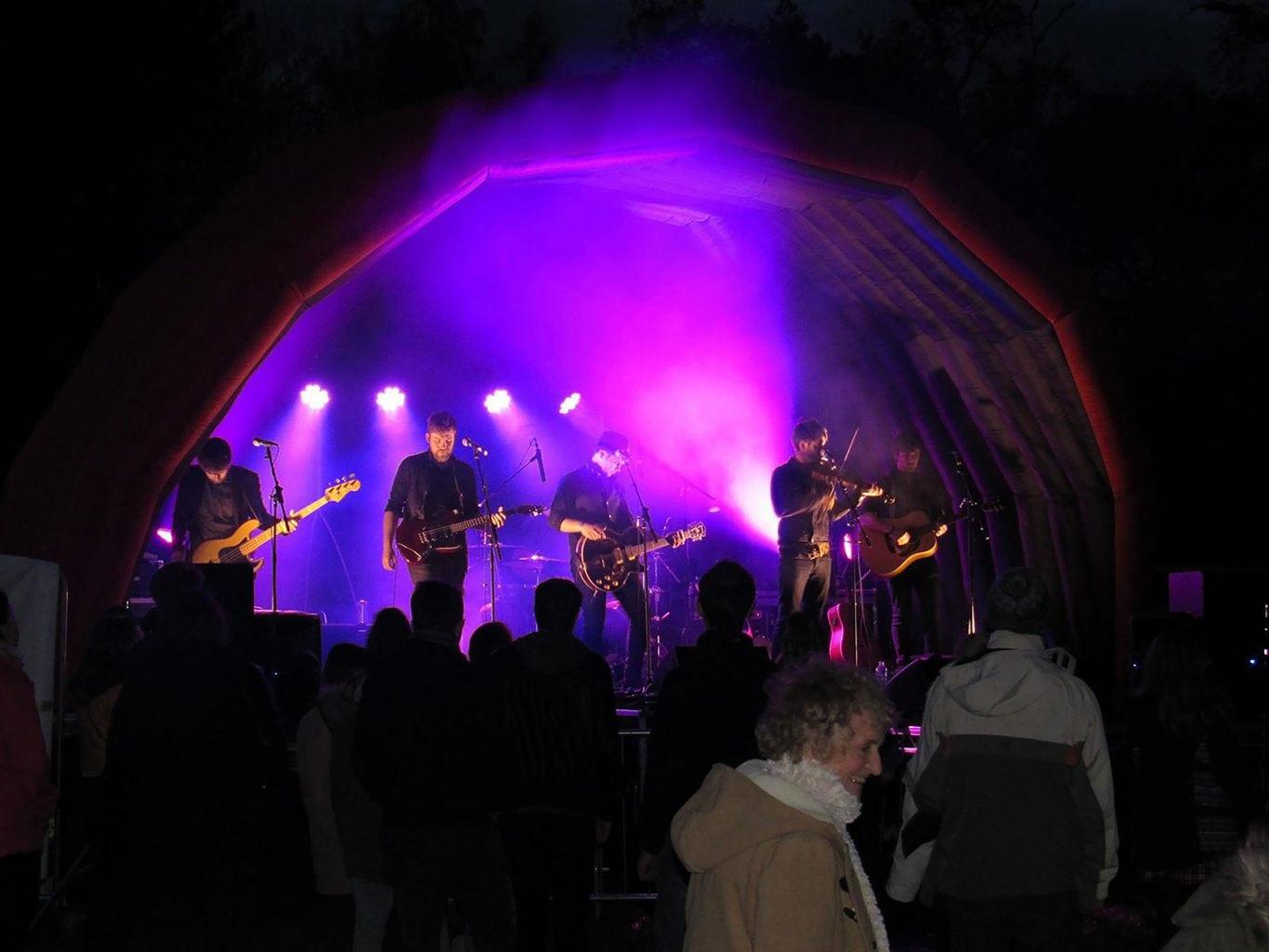 Music festival performance