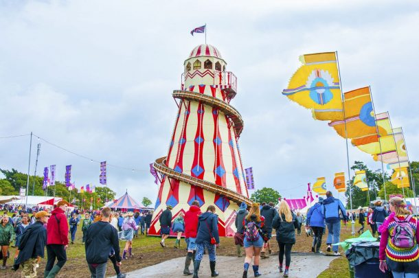 AUB24 X Bestival: Student Designs used at Bestival
